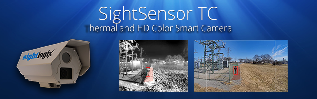 SightSensor TC Smart Thermal Camera Banner