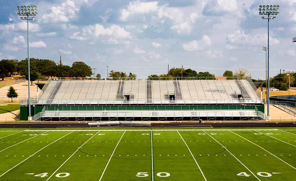 Football Field at School Yard